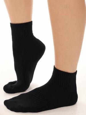 korte sokker lind sort