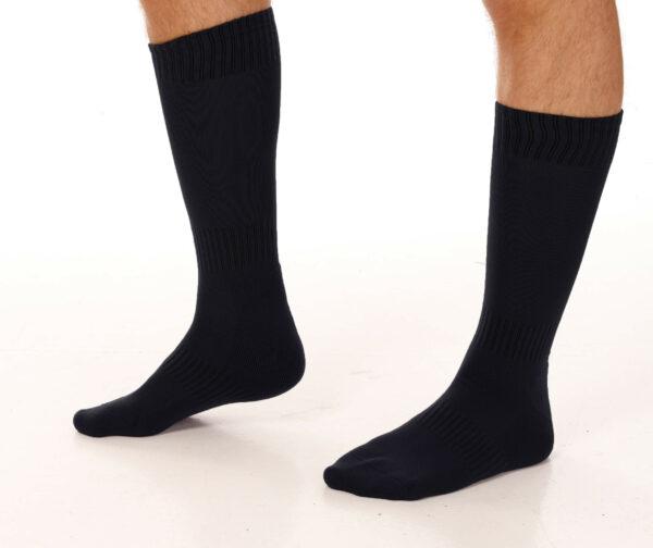 lange sokker mann svart